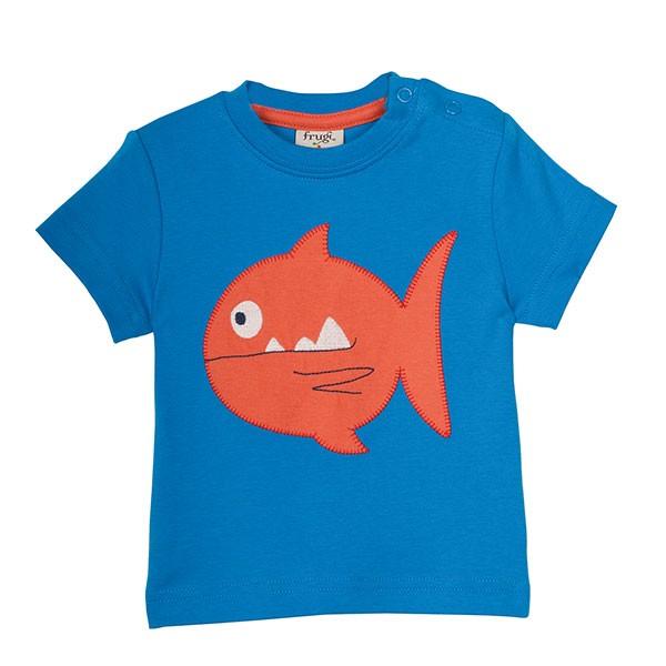 Frugi Organic Fish T-Shirt