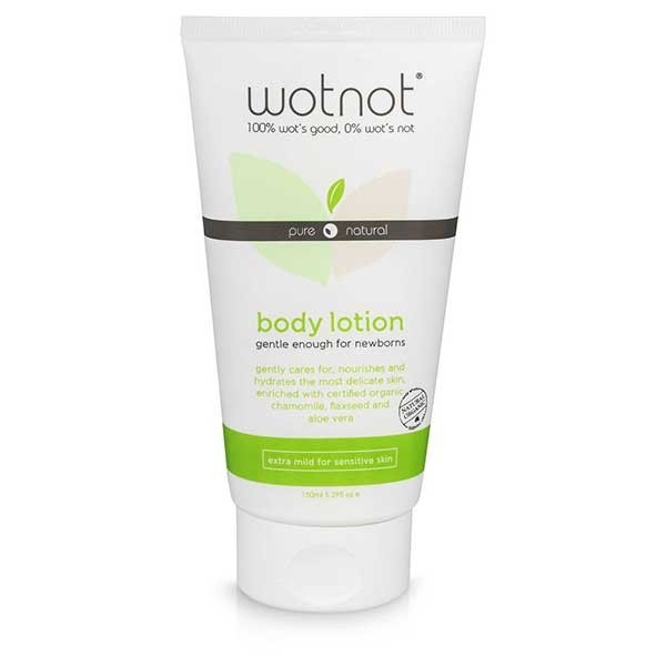 wotnot natural baby lotion