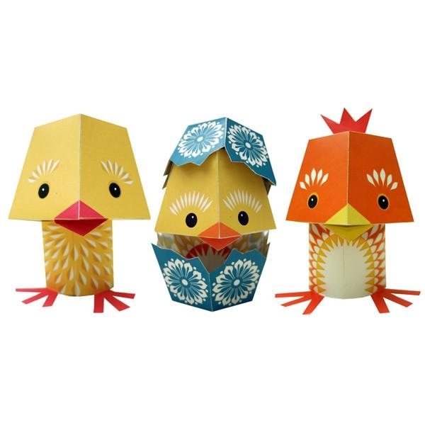 Recycled Paper Animals – The Yolk Folk