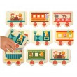 Memory Game - all aboard - train matching