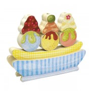Green Toys - Banana Splitz Mix and Match Stackers