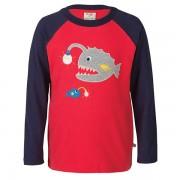 Frugi Organic Fish Raglan T-Shirt