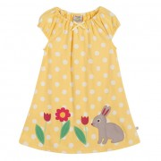 Frugi Little Lola Dress (Yellow)