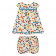 Organic Baby Playsuit Set (Garden)
