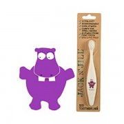 Jack N' Jill Biodegradable Toothbrush - Hippo