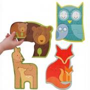 Petit Collage Forest Babies Puzzle