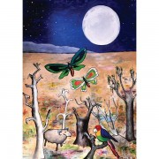 Granny Liz Card - Harvest Moon