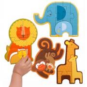Beginner puzzle - Safari Babies