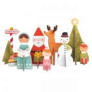 Petite Collage Pop-Out Christmas
