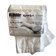 RAWr® 100% Bamboo Nappy Liners