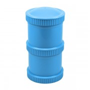 Re-Play Snack Stacks (2-pack) Blue