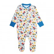Frugi Organic Babygrow Farm Friends