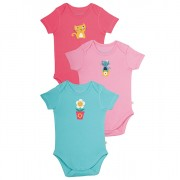 Frugi Organic Cotton Onsies Cat Set