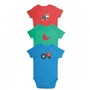 Frugi Organic Cotton Onesies Farmfriends